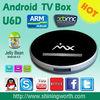 XBMC Amlogic-8726 MX 1.5GHZ Box 1.5GHZ smart tv box Android Dual Core 1GB/8GB