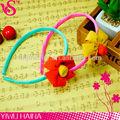 baratos fábrica popular romântica simples cores contrastantes fita envolvido headband flor