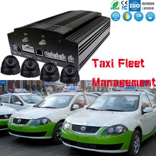 Taxi fleet management h.264 compression mobile sd dvr with GPS positioning and live video alarm system MDVR
