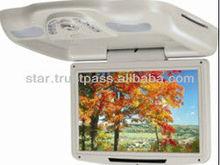 12-inch Roof Mount DVD player with flip down,TV/USB/SD,Radio,IR,Digital TFT LCD monitor