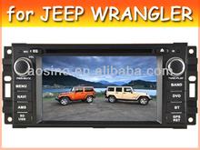 car audio radio car dvd gps for JEEP WRANGLER with bluetooth gps navigation