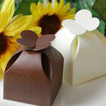 Paper Petal Boxes for Wedding Favors, Chocolate Packaging, Birthday Parties