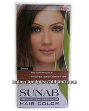 Safe Natural hair colors Dark Brown