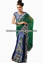bollywood designer sarees   Net Sarees With Net Blouse Designs