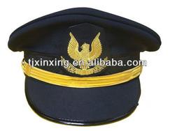military cap;military sailor captain caps;ribbon formal military navy hat;airforce captain hat
