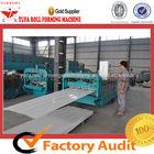 850/900 Double layer iron sheet rolling roof shingle machine