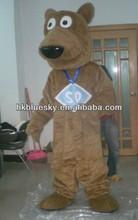 High Quality brown dog Christmas costume for adults