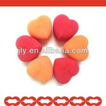 Top Selling Heart Shape Soft Hair Sponge Roller