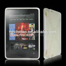 New Rubber X line gel TPU case for Amazon Kindle Fire HDX 7