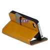 C&T durable pu leather cover for iphone 4 luxury case