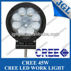 "4"" crane truck vehicle LED work light Flood Beam Offroad Driving Lamp ATV UTE Truck Jeep SUV Black"