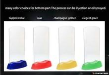 Branded plastic beer menu holder with light up