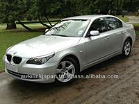 2007/ BMW 5 SERIES 520D SE 2.0 4dr Silver/ 20010SL
