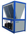 Fuente de aire de refrigeración líquida y sistemas de calentamiento de aire acondicionado