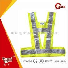 Reflective Mining 3M Scotchlite Safety Vests For Safety Equipment KF-024