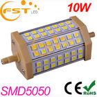 Energy-saving 10W SMD5050 85-265V 42pcs led r7s halogen tubes 118mm (CE&ROHS)
