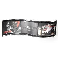 2.5*3.5 wholesale film style acrylic and pvc frame photo