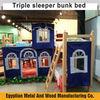 wooden children's loft bed/mid sleeper