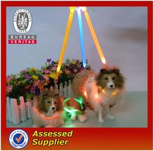 fashion LED dog harness for big dog
