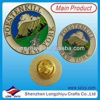 Custom Free Design New Medal Badge,Decoration Newest Embossed Lapel Pins,Painting Cloisonne Emblem Medallion