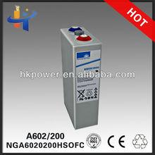 storage battery 200ah sonnenschein A602/225 2v 200ah opz ups battery 200ah NGA6020225HSOFC 4 OPzV 200'