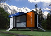 New type Economical portable modular prefabricated container homes for sale