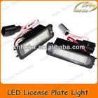 LED License Plate Light Rear Lamp for VW Golf 6