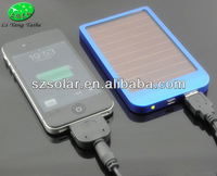 NEW 2600mAh Solar Charger Portable USB Solar Power Bank External Battery Pack For iphone5/4s S4 i9500 S3 i9300