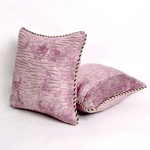 Ruffle Short Fur Bolster and Plush Decorative Cushion Pillow