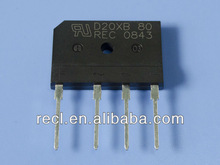 bridge rectifier full wave block GBJ 15A 100V semiconductor