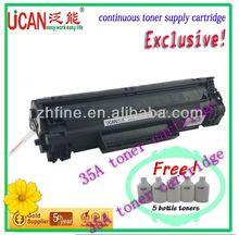 12000 pages for each model. 35a toner cartridge for hp LJ M1230 your best choose to get ricoh aficio copier drum unit