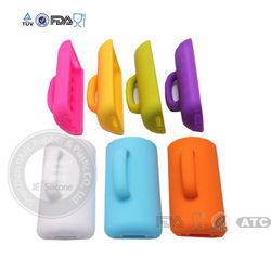 Funny cup handle design silicone cell phone cover for iphone 5
