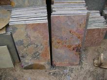 natural rust color slate tile