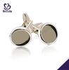 Fashion custom made brass cuff link jewelry men cufflink shirts