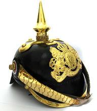 German/ Prussian Leather Pickelhuabe Helmet