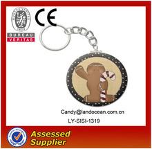 2013 Cheap custom cheap metal keychain