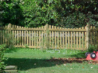 Wooden fence/fencing