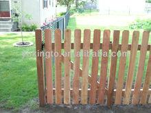 Dog Ear Wooden Fence