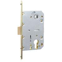 SD410C-S steel striker round knob cylinder door lock with handle