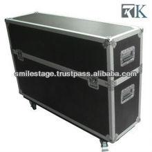 RK latest road rack case ,flight case ,12u amp rack case