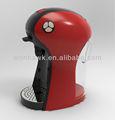 Qualitativ hochwertige mobil- kapsel rote kaffeemaschine