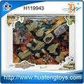 горячей! 3d дети играют в набор военных самолетов на продажу от huateng игрушки