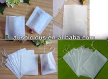 Convenient Filter Paper Tea Bag To Make Tea With Drawstring