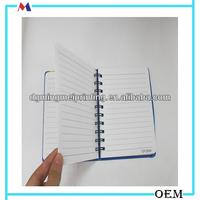 Yo binding cute flowers cover journal/tiny writing pads of school stationary