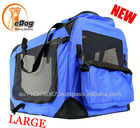 Pet Dog Carrier Travel Bag Crate Cat Tote Cage Folding Kennel