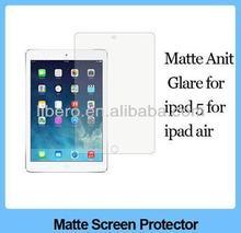 100pcs/lot Matte Anti-glar Anti Glare Anti Scratch LCD Guard Films For Ipad5 For ipad 5 for ipad Air Screen Protector Guard