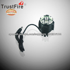 bicycle accessories elect TrustFire D011 bicycle light 3 XM-L 2 2100lumes head lamp with 18650 power bank