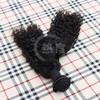 100%Virgin jerry curl weave extensions human hair true length real raw human brazilian hair