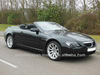 2008/ BMW 6 SERIES 630I SPORT AUTO 3.0 2dr Black/ 20047SL