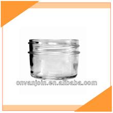Short Round Glass Herb Storage Jars